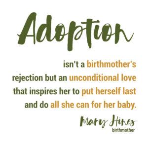 Adoption is unconditional love